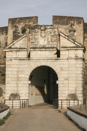 stronghold: Calvario Gate, stronghold of Olivenza, Spain