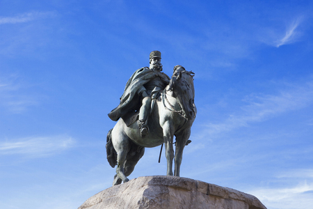 martinez: Monument to General Martinez Campos. Spanish officer, who restored Spains Bourbon dynasty
