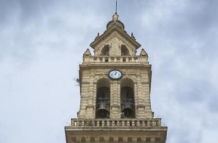 lorenzo: Saint Lawrence Church or San Lorenzo Bell Tower, Cordoba, Spain