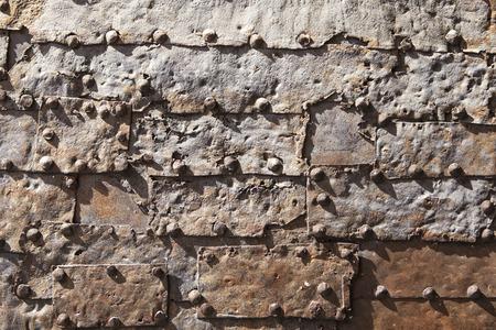 puertas de hierro: puertas de hierro medievales pertenecen a Cambron, Ciudad medieval de Toledo, España