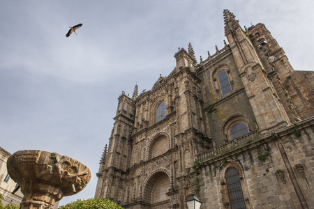 New cathedral Plasencia, Caceres, Extremadura, Spain, Europe