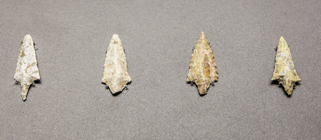 neolithic stone arrowheads