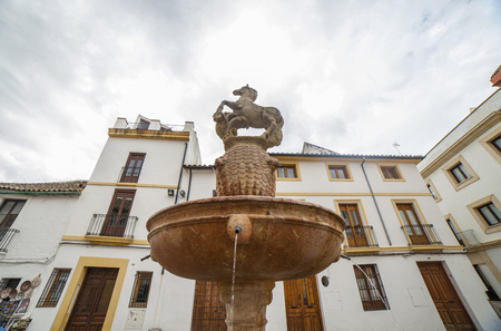 Colt Fountain or Plaza del Potro, Cordoba, Spain