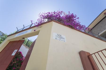 Los Califas Bullring Cordoba, Spain. Cuadrillas Gate