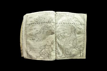 Terza Tavola by Giacomo Gastaldi, 1554. Johannine Library of the Coimbra University in Coimbra Portugal Editorial