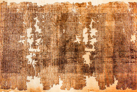 Commentary on the Theaetetus of Plato Written at Hermopolis, Egypt, 2nd Century AC. Staatliche Museen zu Berlin, pag 9782 新聞圖片