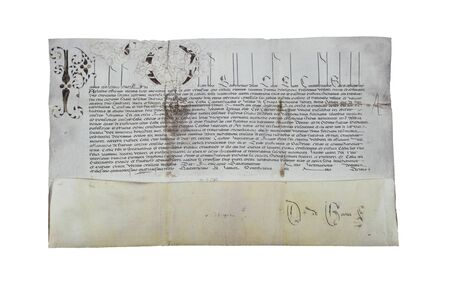 Papal bull with the appointment as Bishop of Chiapas of Fray Bartolome de las Casas, 1543. Archive of the Indies, Seville