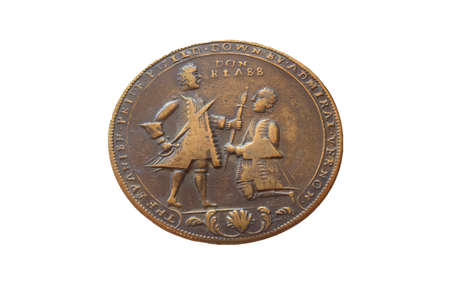 Medal Commemorating the Attempted Capture of Cartagena de Indias, 1741. Naval Museum. Madrid