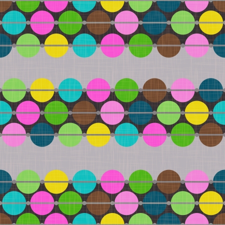brightly: Abstract Geometric Background with colorful dots