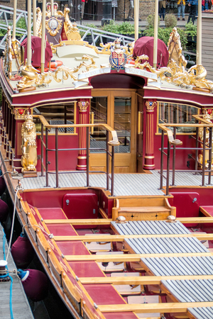 Gloriana British Royal Barge Of Queen Elizabeth II