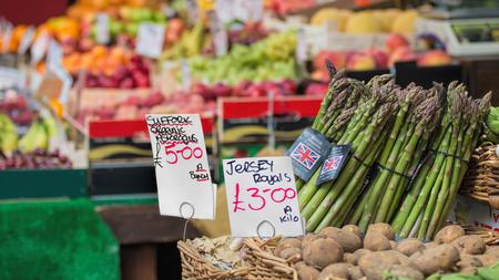 vegetable market: British Asparagus, Vegetable Market