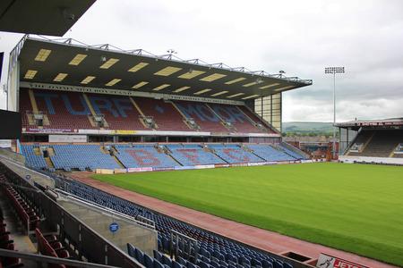 Burnley, UK - June 16, 2014: Turf Moor Football Ground, Burnley UK