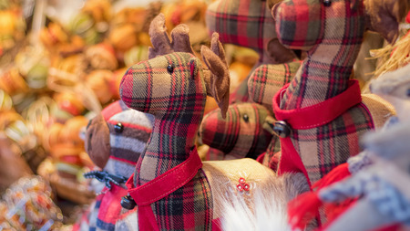 stuff toy: Christmas Market, Reindeer Toy and Gifts.