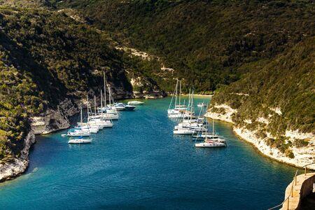 Impressions from the Corsican Coastline Stock Photo