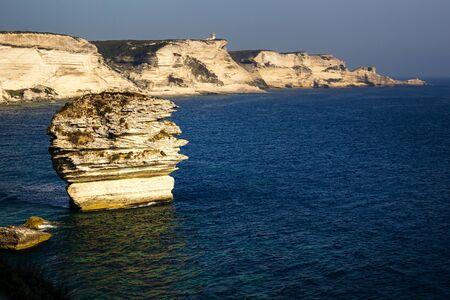 Bonifacio and its white Cliffs