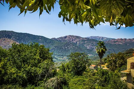 The beautiful Mountains of Corsica