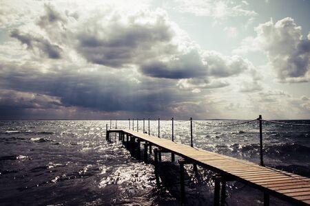 Storm Clouds on the Danish Coast