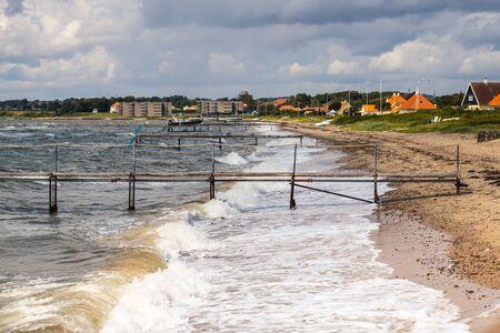 The Beach from Juelsminde - Denmark