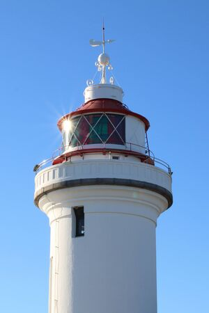 A beautiful Lighthouse in the Sunlight