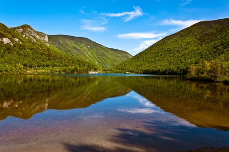 Echo lake -Franconia-New Hampshire photo