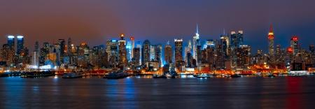 Panorama van Manhattan
