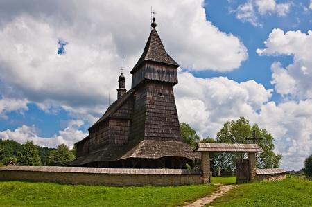 De kerk te bouwen in 1667 Sanok polen