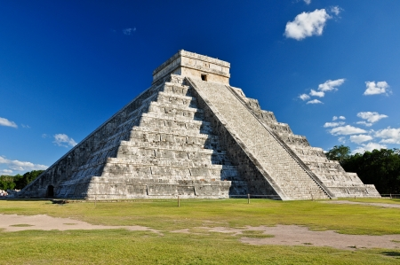 del: Mayan Ruin - Chichen Itza Mexico  Stock Photo