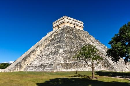 carmen: Mayan Ruin - Chichen Itza Mexico  Stock Photo