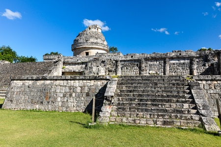 Mayan ruins - astronomical observatory Stock Photo - 13558851