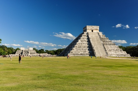 Mayan Ruin - Chichen Itza Mexico  Editorial