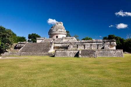 Maya-ruïnes - astronomische observatorium