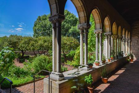 Tuin van de Kloosters Museum in New York