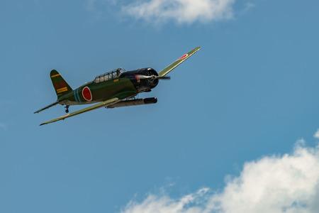 READING, PA - JUNE 3, 2017: Nakajima B5N2