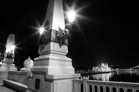 Budapest Danube Reflection