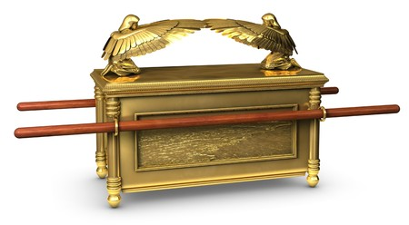 Legendary Ark of the Covenant from the Bible Stock Photo - 7057346