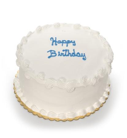 frosting: Birthday Cake Stock Photo