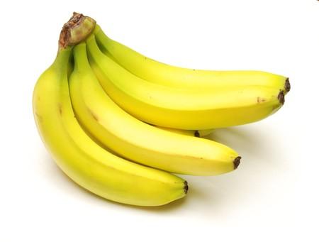 A bunch of bananas.  Stock Photo