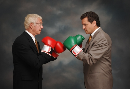 Boxing Executives Stock Photo - 16947856