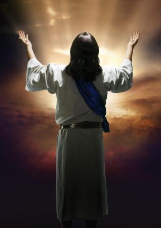 Pasen beeld van de opstanding van Christus