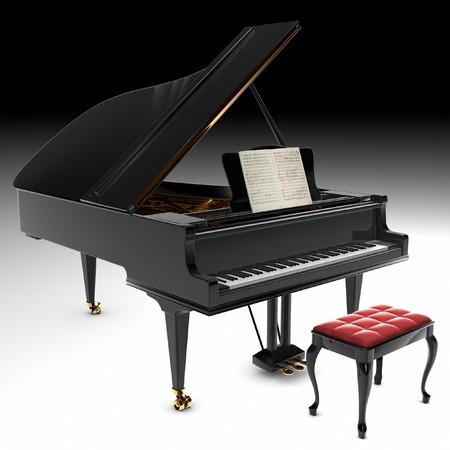 grand piano: Ein sch�nes classic-Fl�gel.