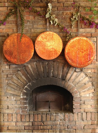 pizza oven: Italian country oven