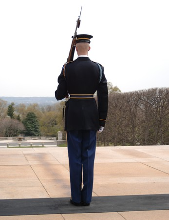dc: Guardia d'Onore al cimitero di Arlington, a Washington DC