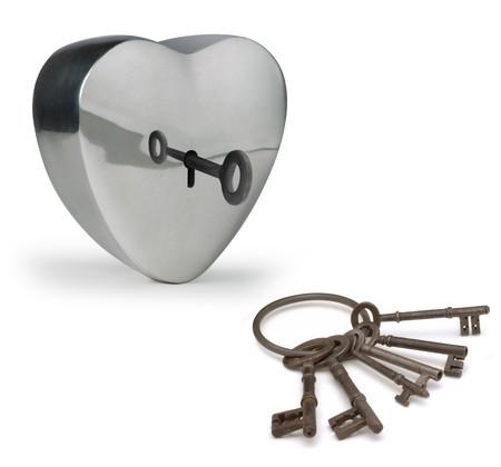 금속 마음을 열어 열쇠