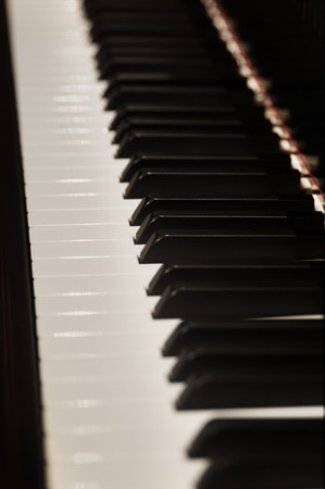 Pianio Keys Stock Photo - 7052556