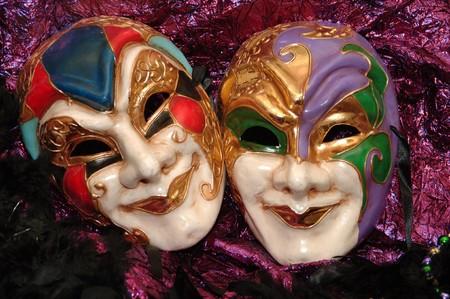 mardigras maskers