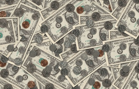 US currency background Stock Photo - 7049806