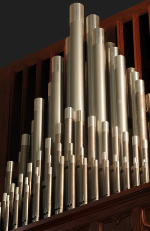 pipe organ pipes Stock Photo - 7055170