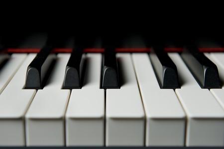 Close-up of piano keys Stock Photo - 7050674