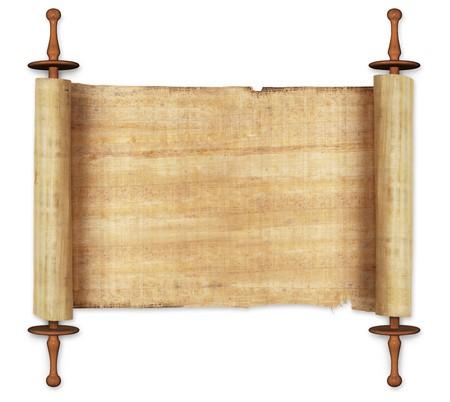 ancient civilization: ancient scrolls