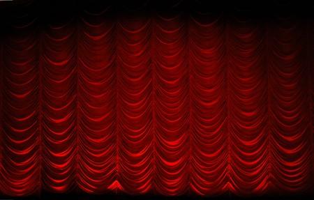 swag: swag rojo theatrre cortina